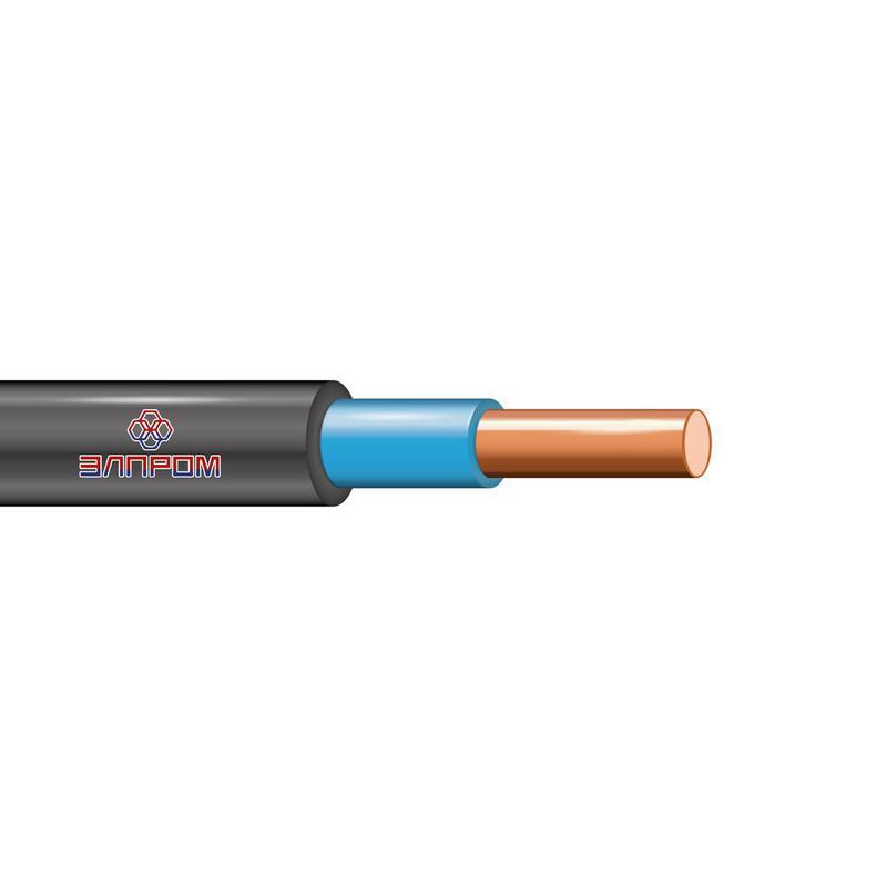 Кабель ВВГнг(А)-LS 1х6 Г ОК 0.66кВ (бухта) (м) ЭлПром НТ000002870