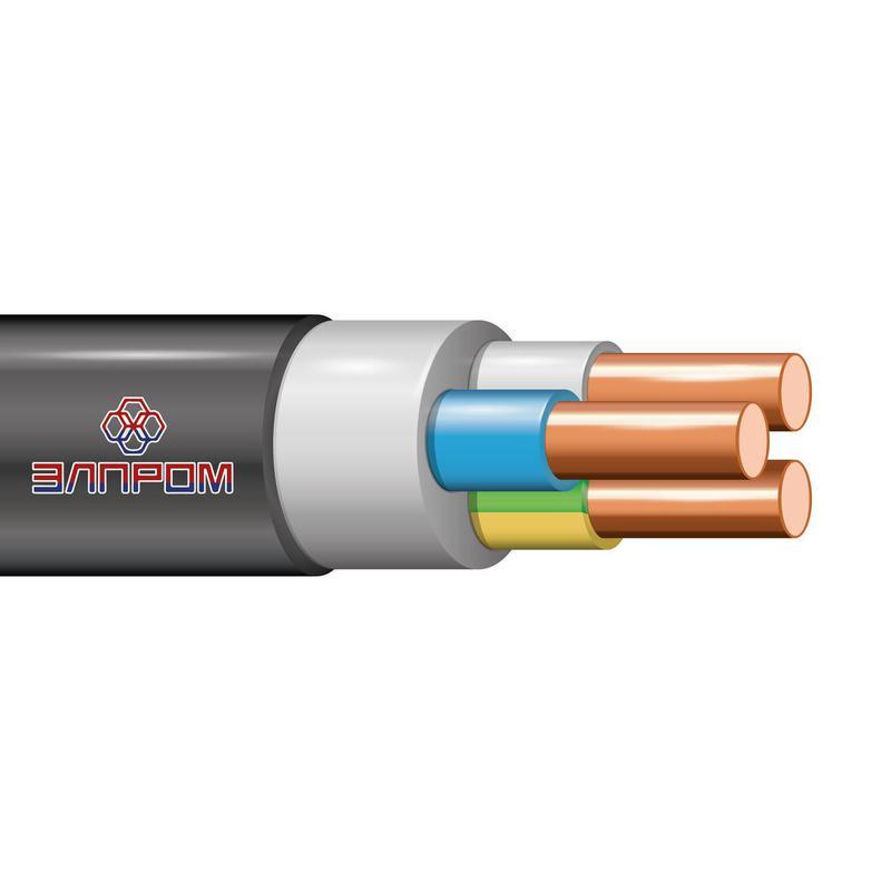 Кабель ВВГнг(А)-LS 3х10 ОК 0.66кВ (м) ЭлПром НТ000002994