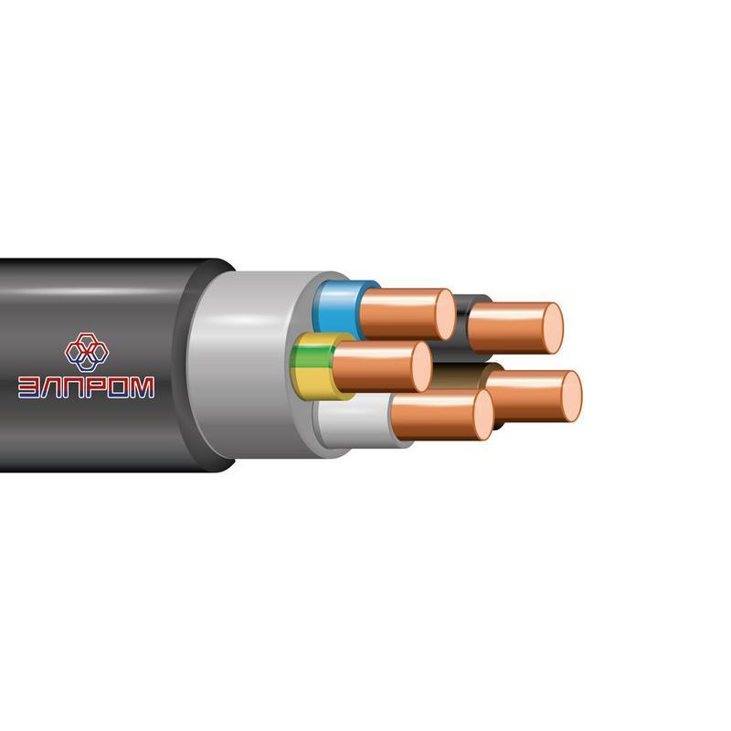 Кабель ВВГнг(А)-LS 5х10 ОК 0.66кВ (м) ЭлПром НТ000003098
