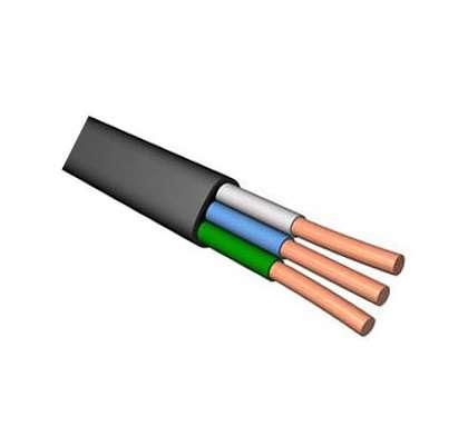 Кабель ВВГнг(А) 3х4.0 плоский (м) ПромЭл