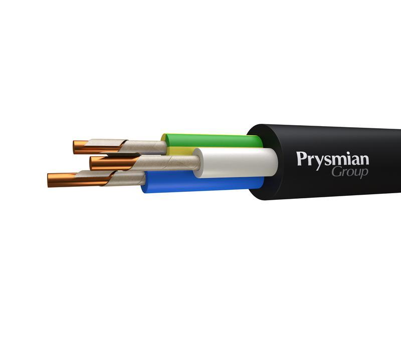 Кабель ВВГнг(А)-FRLS 3х1.5 1кВ (м) РЭК-PRYSMIAN 1703040106