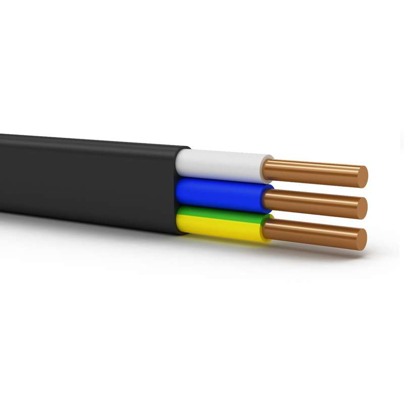 Кабель ВВГ-Пнг(А)-LSLTx 3х2.5 ОК (N PE) 0.66кВ (бухта 100м) (м) Энергокабель ЭК000038724